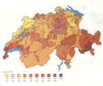 Huurprijzen Zwitserland 2011