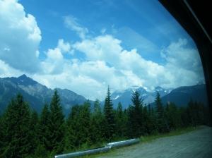 Mount Robson - zoals het hoort met echte bergen: in de wolken