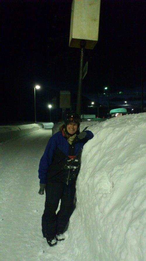 Der Dampfzug nach Gletsch - Realp verkehrt leider nicht. Grund dafür ist Schneefall...